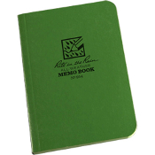 Rite in the Rain All Weather Memo Book-Green