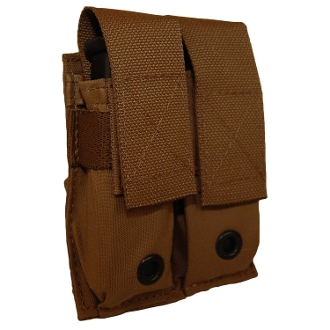 ATS Tactical Double Pistol Mag Pouch