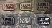 Mil Spec Monkey I Come/I Leave Morale Patch