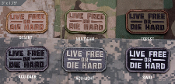 Mil Spec Monkey Live Free Or Die Hard Morale Patch