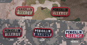 Mil Spec Monkey Penicillin Allergy Patch