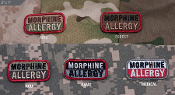 Mil Spec Monkey Morphine Allergy Patch