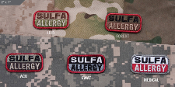 Mil Spec Monkey Sulfa Allergy Patch