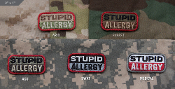 Mil Spec Monkey Stupid Allergy Morale Patch