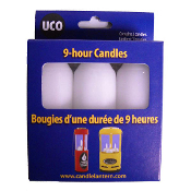 UCO 9 Hour Candle-Pack Of 3