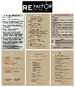 RE Factor Tactical Combat Reference Stickers